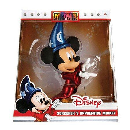 Boneco Metals Die Cast 15cm Disney - Mickey Feiticeiro