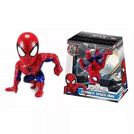 Boneco Metals Die Cast 15cm Marvel - Spiderman / Homem Aranha