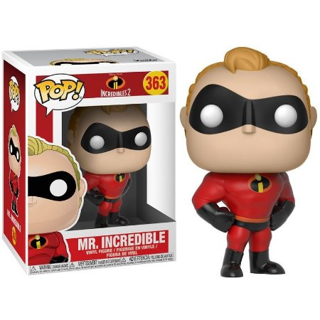 POP! Funko Incredibles 2: Mr. Incredible /Sr. Incrível # 363