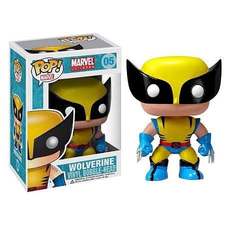 POP! Funko Marvel: Wolverine Clássico # 05
