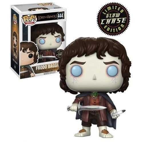 POP! Funko Movies: CHASE Frodo Baggins - Lord of the Ring / Senhor dos anéis # 444