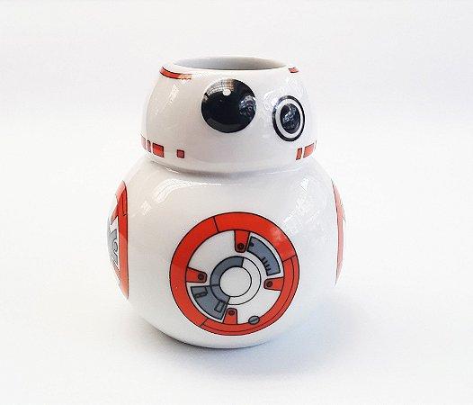 Caneca Porcelana 3D Star Wars  BB-8