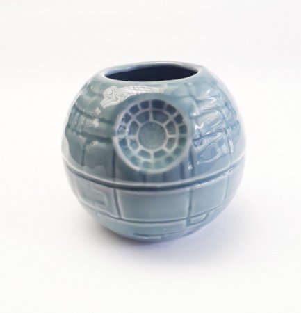 Caneca Porcelana 3D Star Wars - Estrela da Morte