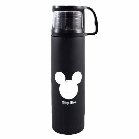 Garrafa Térmica 500ml c/ Tampa Mickey Mouse