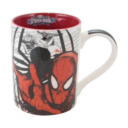 Caneca Porcelana 460ml Marvel - Spiderman | Homem Aranha