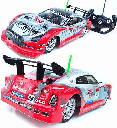 Carro Drift Controle remoto Speed 5 Funções 1:14