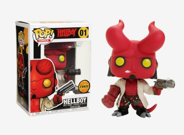 Funko Pop! Comics: Hellboy c/ Chifres - CHASE