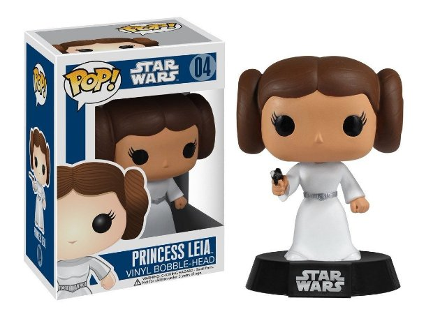 POP! Funko Star Wars: Princesa Leia # 04