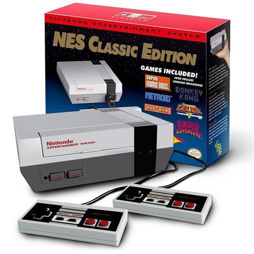 Nintendo Nes Classic Edition 30 Jogos