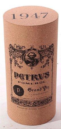 Banco em madeira e Cortiça - Rolha de Vinho Petrus
