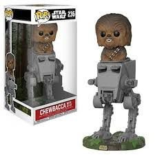 POP! Funko Star Wars: Chewbacca with AT-ST  # 236