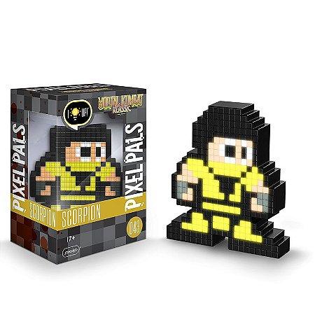 Luminária 8 Bit Pixel Pals Mortal Kombat - Scorpion