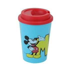 Copo mini c/ Tampa 350ml Mickey Mouse