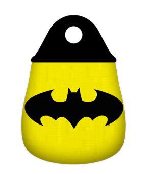 Lixeira para Carro Neoprene Batman Logo - DC Comics