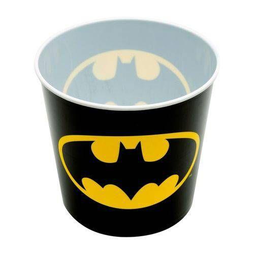 Pote Balde p/ Pipoca 5 Litros Batman Logo - DC Comics