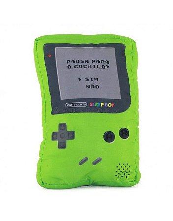 Almofada Formato SleepBoy - Verde