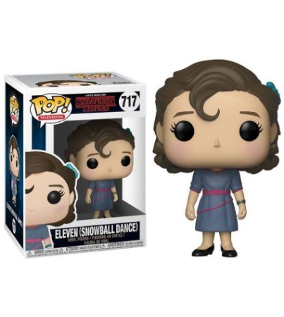 Boneco POP! Funko Stranger Things - Eleven Snowball Dance # 717