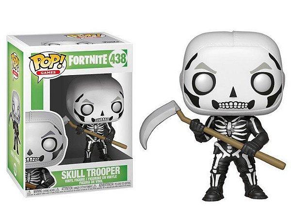 Boneco POP! Funko Fortnite Skull Trooper # 438