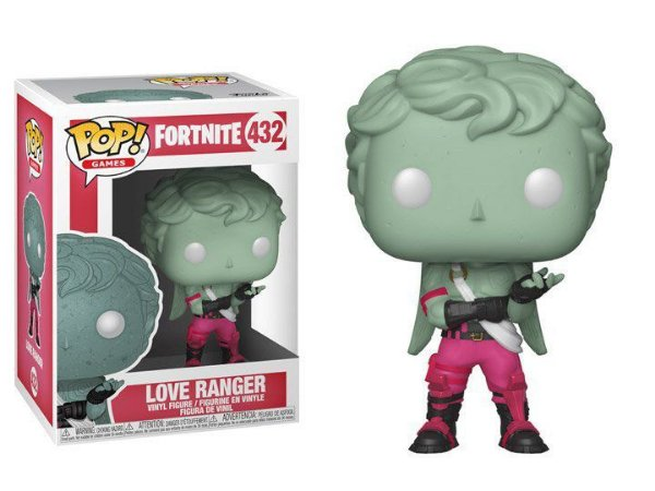 Boneco POP! Funko Fortnite Love Ranger # 432