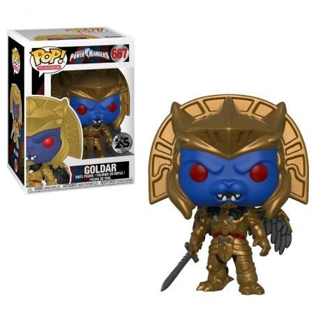 POP! Funko Power Rangers 25th Goldar # 667