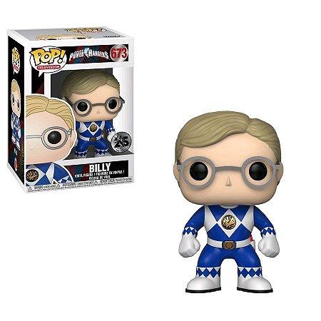 POP! Funko Power Rangers 25th Blue | Azul - Billy # 673