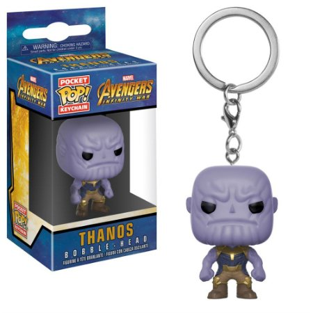 Chaveiro Pocket POP! Funko Marvel Infinity War - Thanos