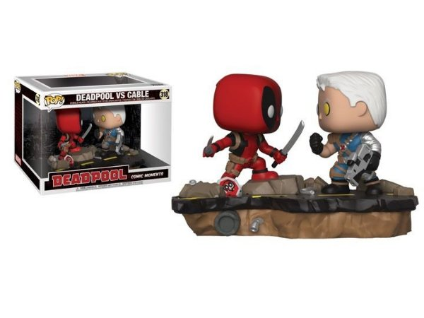 POP! Funko Cenas Pack: Deadpool VS Cable # 318