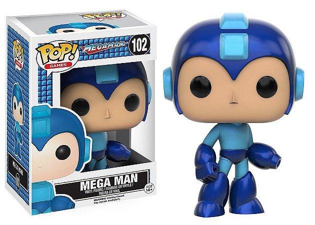 POP! Funko Games Megaman - Megaman # 102