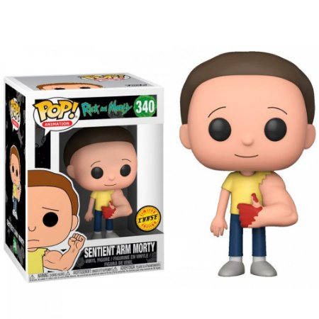 POP! Funko TV: Rick And Morty CHASE Sentinent Arm Morty # 340