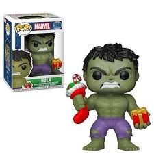 POP! Funko Marvel Christmas Hulk # 398