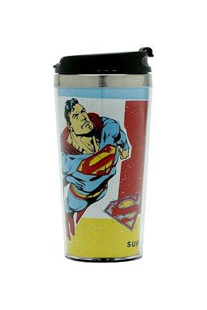 Copo Térmico 500ml Superman Voando - DC Comics Oficial