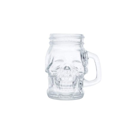 Copo Shot / Dose 110ml Caveira - Skull Head