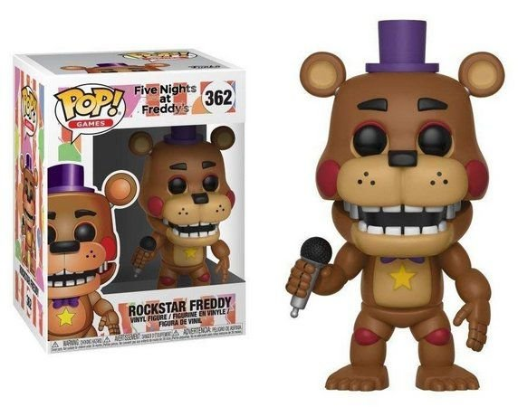 Pop! Funko Games: Five Nights at Freddy's - Rock Star Freddy # 362
