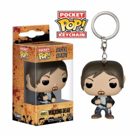 Chaveiro Pocket POP! Funko The Walking Dead - Daryl Dixon