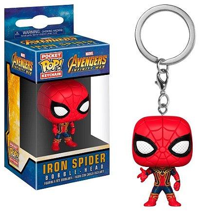 Chaveiro Pocket POP! Funko Iron Spider