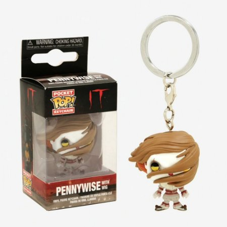 Chaveiro Pocket POP! Funko Pennywise Peruca