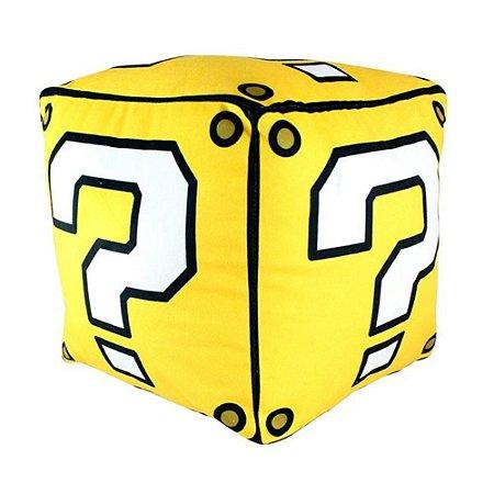 Almofada Formato Bloco de Interrogação - Mario Bros
