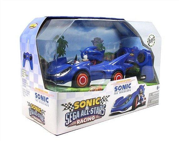 Carrinho Controle Remoto Sonic & Sega All Stars Racing