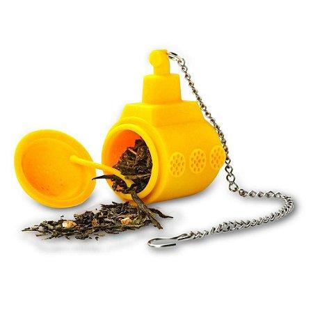 Infusor de Chá em Silicone Yellow Submarine