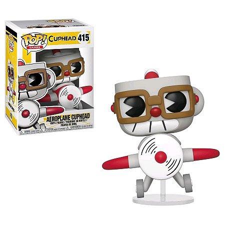 POP! Funko Cuphead - Aeroplane Cuphead #415