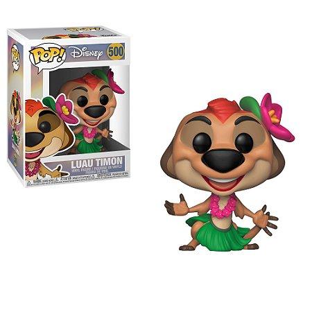 """POP! Funko Disney """" O Rei Leão"""" - Timão / Luau Timon # 500"""