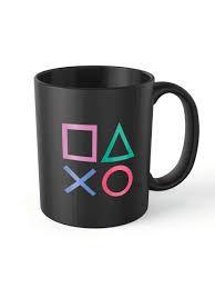 Caneca Plástico 400ml Playstation Oficial
