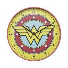 Relógio Parede 30cm Logo Mulher Maravilha DC Comics
