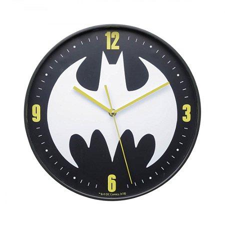 Relógio Parede 30cm Batman Logo - DC Comics