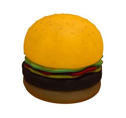 Luminária Bivolt Formato Hambúrguer