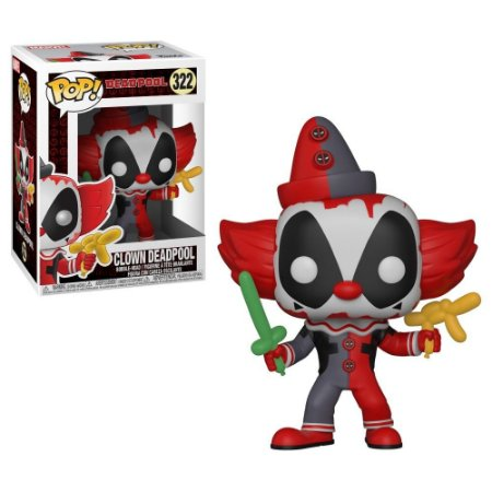 POP! Funko Marvel Clown Deadpool # 322