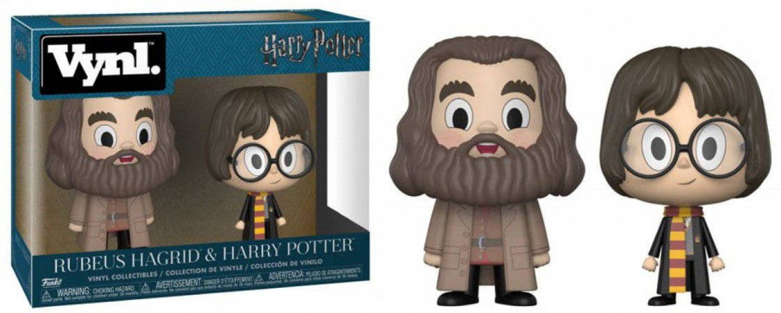 Funko Vynl HP: Rubeus Hagrid + Harry Potter