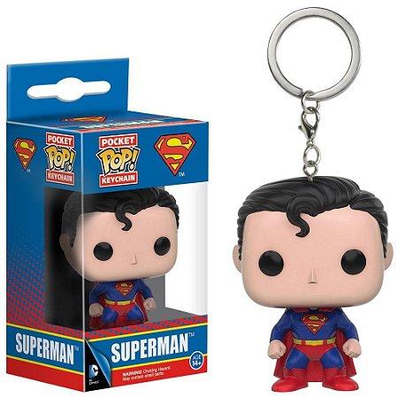 Pocket POP! Funko Keychain Chaveiro Superman / Super Homem