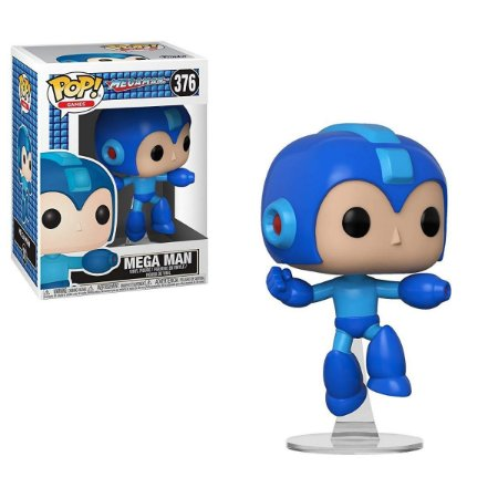 POP! Funko Games Megaman - Mega Man Jumping # 376