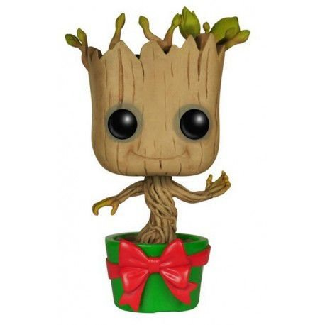 POP! Funko Guardiões da Galáxia: Holiday Dancing Groot # 101